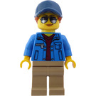 LEGO Female Transporter Driver Minifigure