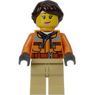 LEGO Female TV Camera Operator Minifigure