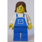 LEGO Female with Blue Overalls Minifigure