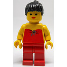 LEGO Female with Red Top Minifigure