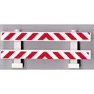 LEGO Fence 1 x 8 x 2 with Sticker (6079)