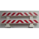 LEGO Fence 1 x 8 x 2 with Sticker from Set 60026 (6079)