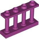 LEGO Fence Spindled 1 x 4 x 2 avec 4 clous supérieurs (15332)