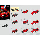 LEGO Ferrari 150 Italia Set 30190 Instructions