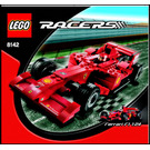 LEGO Ferrari 248 F1 1:24 (Vodafone version) Set 8142 Instructions