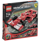 LEGO Ferrari 248 F1 1:24 (Vodafone version) Set 8142 Packaging