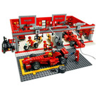 LEGO Ferrari 248 F1 Team (Michael Schumacher Edition) Set 8144-1