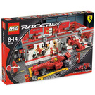 LEGO Ferrari 248 F1 Team Set (Raikkonen Edition) 8144-2 Packaging