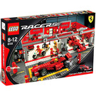 LEGO Ferrari 248 F1 Team Set (Schumacher Edition) 8144-1 Packaging