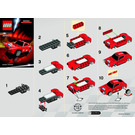 LEGO Ferrari 250 GT Berlinetta Shell V-Power Set 30193 Instructions