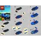 LEGO Ferrari 250 GTO Shell V-Power Set 40192 Instructions