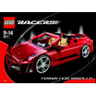 LEGO Ferrari 430 Spider 1:17 Set 8671 Instructions