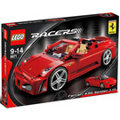 LEGO Ferrari 430 Spider 1:17 Set 8671 Packaging