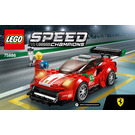LEGO Ferrari 488 GT3 Scuderia Corsa Set 75886 Instructions
