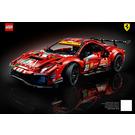 LEGO Ferrari 488 GTE 'AF Corse #51' Set 42125 Instructions