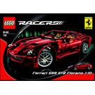 LEGO Ferrari 599 GTB Fiorano 1:10 Set 8145 Instructions
