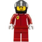 LEGO Ferrari driver Minifigure