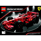 LEGO Ferrari F1 1:9 Set 8157 Instructions