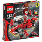 LEGO Ferrari F1 Fuel Stop Set 8673 Packaging