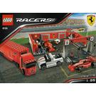 LEGO Ferrari F1 Pit Set 8155