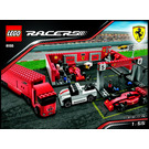 LEGO Ferrari F1 Pit Set 8155 Instructions