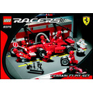 LEGO Ferrari F1 Pit Set 8375 Instructions