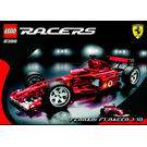 LEGO Ferrari F1 Racer 1:10 Set 8386 Instructions