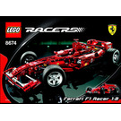 LEGO Ferrari F1 Racer 1:8 Set 8674 Instructions