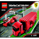 LEGO Ferrari F1 Truck Set 8153 Instructions