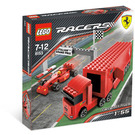 LEGO Ferrari F1 Truck Set 8153 Packaging