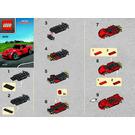 LEGO Ferrari F12 Berlinetta Set 40191 Instructions