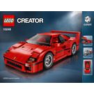 LEGO Ferrari F40 Set 10248 Instructions