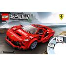 LEGO Ferrari F8 Tributo Set 76895 Instructions
