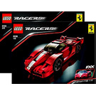LEGO Ferrari FXX 1:17 Set 8156 Instructions