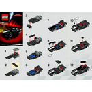 LEGO Ferrari FXX Shell V-Power Set 30195 Instructions