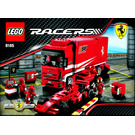 LEGO Ferrari Truck Set 8185 Instructions