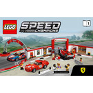 LEGO Ferrari Ultimate Garage Set 75889 Instructions