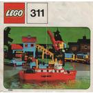 LEGO Ferry Set 311-1 Instructions