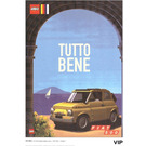 LEGO Fiat Art Print 1 - Tutto Bene (5006303)
