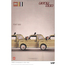 LEGO Fiat Art Print 2 - Three Cars (5006304)