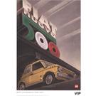 LEGO Fiat Art Print 3 - Nuova Italia (5006305)