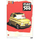 LEGO Fiat Art Print 7 - Nuova Rosso (5006310)