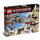 LEGO Fight for the Golden Tower Set 8107 Packaging