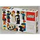 LEGO Figure building Set 205 Packaging