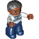 LEGO Figure Dad Hispanic Duplo Figure