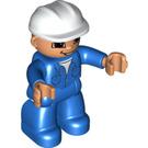 LEGO Figure with helm Duplo Figure