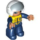 LEGO Figure with Open Helmet Duplo Figure