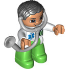 LEGO Figure with Stethoscope V2 Duplo Figure