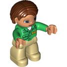 LEGO Figure - Zoo Keeper Duplo Figure