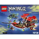 LEGO Final Flight of Destiny's Bounty Set 70738 Instructions